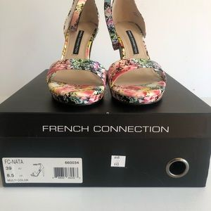 French Connection Shoes - BRAND NEW French Connection Peep Toe Heels